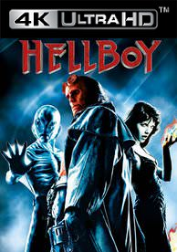 Hellboy (2004) - Vudu HD4K / UHD - (Digital Code)