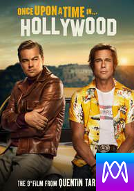 Once Upon a Time in Hollywood - Vudu SD or iTunes SD via MA - (Digital Code)