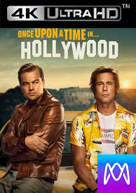Once Upon a Time in Hollywood - Vudu HD4K or iTunes 4k via MA - (Digital Code)
