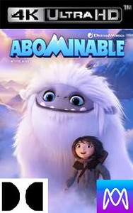 Abominable - Vudu 4K or iTunes 4K via MA - (Digital Code)