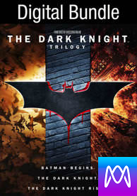 Dark Knight Trilogy - Vudu HD or iTunes HD via MA - (Digital Code)