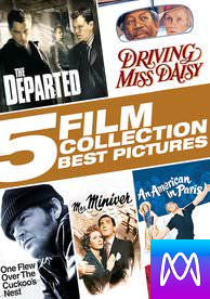 5 Film Collection: Best Pictures - Vudu HD or iTunes HD via MA - (Digital Code)