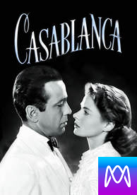 Casablanca - Vudu HD or iTunes HD via MA - (Digital Code)