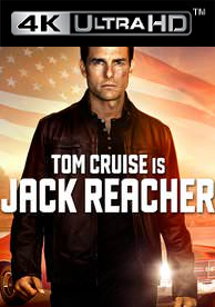Jack Reacher - Vudu HD4K/UHD - (Digital Code)