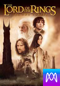 Lord of the Rings: The Two Towers - Vudu HD or iTunes HD via MA - (Digital Code)