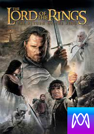 Lord of the Rings: The Return of the King - Vudu HD or iTunes HD via MA - (Digital Code)