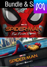 Spider-man 2-Pack - Vudu HD or iTunes HD via MA - (Digital Code)