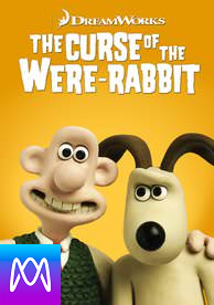 Wallace and Gromit: Curse of the Were-Rabbit - Vudu HD or iTunes HD via MA - (Digital Code)