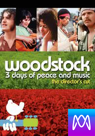 Woodstock: 3 Days of Peace and Music - Vudu HD or iTunes HD via MA - (Digital Code)