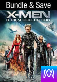 X-men Trilogy - Vudu HD or iTunes HD via MA - (Digital Code)