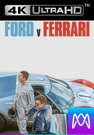 Ford V Ferrari - Vudu HD4K/UHD - (Digital Code)