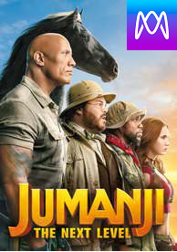 Jumanji: Next Level - Vudu HD or iTunes HD via MA - (Digital Code)