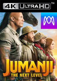 Jumanji: Next Level - Vudu HD4K/UHD - (Digital Code)