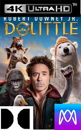 Dolittle - Vudu HD4K or iTunes 4K via MA - (Digital Code)