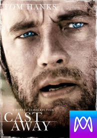 Cast Away - Vudu HD or iTunes HD via MA - (Digital Code)