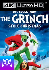 Dr. Seuss: How the Grinch Stole Christmas - HD4K/UHD - (Digital Code) PLEASE READ DESCRIPTION.