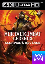 Mortal Kombat Legends: Scorpion's Revenge - Vudu 4K or iTunes 4K via MA - (Digital Code)