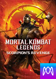 Mortal Kombat Legends: Scorpion's Revenge - Vudu HD or iTunes HD via MA - (Digital Code)