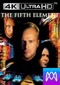 Fifth Element - Vudu HD or iTunes 4K via MA (Digital Code) - Please Read Description
