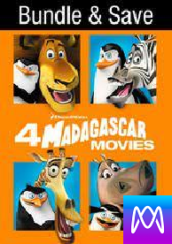 Madagascar Ultimate Collection - Vudu HD or iTunes HD via MA - (Digital Code)