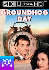 Groundhog Day - Vudu 4K or iTunes 4K via MA - (Digital Code)