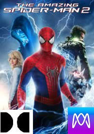 Amazing Spider-Man 2 - Vudu HD or iTunes HD via MA (Digital Code)