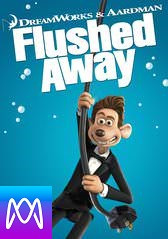 Flushed Away - Vudu HD or iTunes HD via MA - (Digital Code)