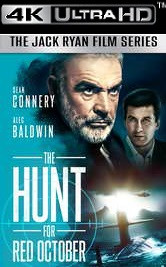 Hunt for Red October - iTunes 4K - (Digital Code)