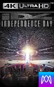 Independence Day - Vudu HD4K/UHD - (Digital Code)