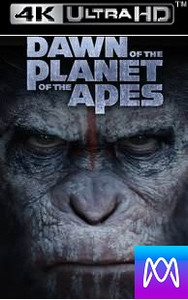 Dawn of the Planet of the Apes - Vudu 4K via iTunes 4K - (Digital code)