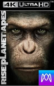 Rise of the Planet of the Apes -Vudu 4K via iTunes 4K - (Digital Code)