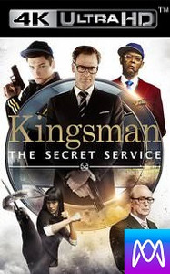 Kingsman: The Secret Service - iTunes 4K - (Digital Code)