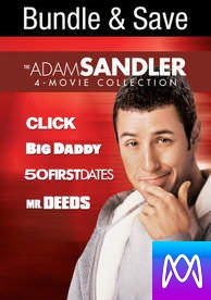 Adam Sandler 4-Pack - Vudu SD or iTunes SD via MA - (Digital Code)