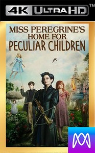 Miss Peregrine's Home For Peculiar Children - Vudu HD4K and iTunes 4K via iTunes - (Digital Code) Must be redeemed in iTunes first.