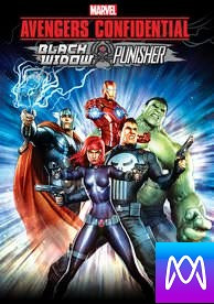 Avengers Confidential: Black Widow & Punisher - Vudu SD or iTunes SD via MA - (Digital Code)