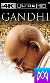 Gandhi - Vudu HD4K or iTunes 4K - (Digital Code)