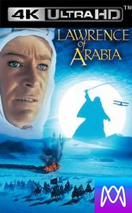 Lawrence of Arabia (Restored Version) - Vudu HD4K or iTunes 4K - (Digital Code)