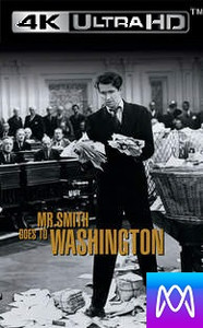 Mr. Smith Goes to Washington - Vudu HD4K or iTunes 4K - (Digital Code)