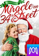 Miracle on 34th Street (1947) - Vudu HD or iTunes HD via MA - (Digital Code)