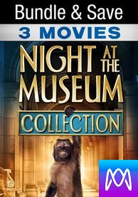 Night at the Museum Trilogy - Vudu SD or iTunes SD via MA - (Digital Code)