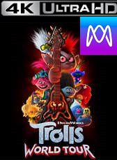 Trolls: World Tour - Vudu HD4k or iTunes 4K via MA - (Digital Code)