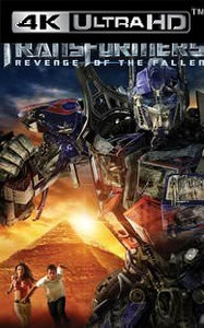 Transformers: Revenge of the Fallen - Vudu HD4K - (Digital Code)