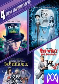 4 Film Favorites: Tim Burton - Vudu HD or iTunes HD via MA - (Digital Code) PLEASE READ DESCRIPTION