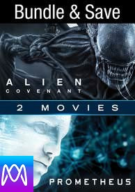 Alien Covenant/Prometheus - Vudu SD or iTunes SD via MA - (Digital Code)