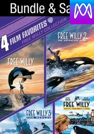 4 Film Favorites: Free Willy Collection - Vudu SD or iTunes SD via MA - (Digital Code)