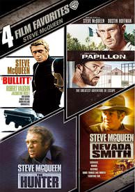 4 Film Favorites: Steve McQueen - Vudu SD - (Digital Code)