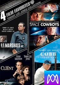 4 Film Favorites: Tommy Lee Jones - Vudu SD or iTunes SD via MA - (Digital Code)