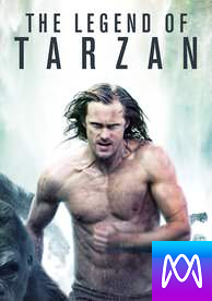 Legend of Tarzan - Vudu HD or iTunes HD via MA (Digital Code)
