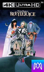 Beetlejuice - Vudu 4K or iTunes 4K via MA - (Digital Code)