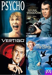 Alfred Hitchcock Collection (4-Pack) - Vudu 4K or iTunes HD via MA - (Digital Code) PLEASE READ DESCRIPTION